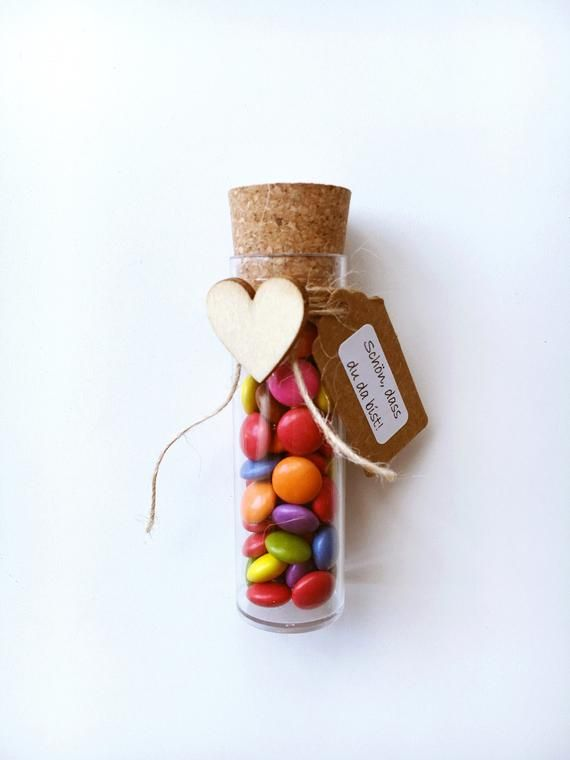 Guest gift for children wedding-Smarties in test tube