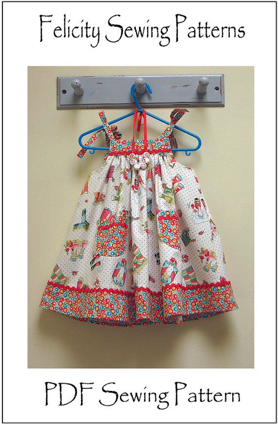 Daisy Sun Dress -- baby girls dress pattern and sewing tutorial by Felicity Sewing Patterns children's sewing patterns. https://www.etsy.com/listing/150707729/daisy-sun-dress-baby-girls-dress-pattern?ref=shop_home_active_22