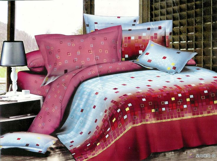 Size: (King Size) 3 Piece Set Pillow Cover And 1 Bed Sheet) Order Now: