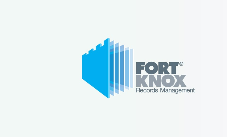 Fort Knox records management | #brandmark #logo #branding #design