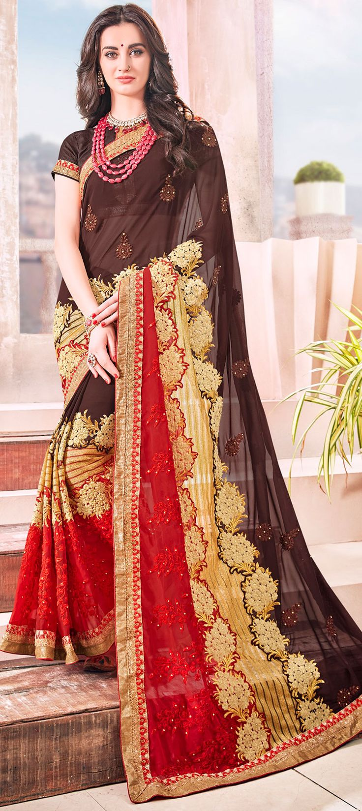 18 best Saree collection images on Pinterest | Blouse, Blouses and ...