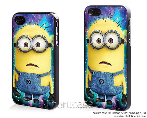 Hey, I found this really awesome Etsy listing at http://www.etsy.com/listing/163762400/despicable-minion-in-galaxy-custom-case