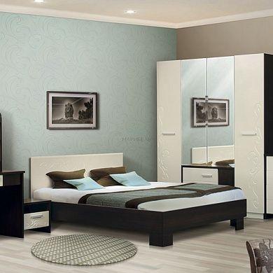 Спальня Милана-1 купить в Екатеринбурге | Мебелька