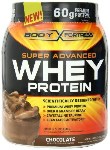 Body Fortress Whey Protein Powder, Chocolate, 31.2 Ounces by Body Fortress