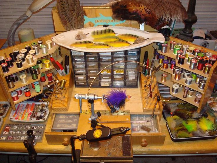 Free Plans For Building A Tiny House Fly Tying Desk Setup