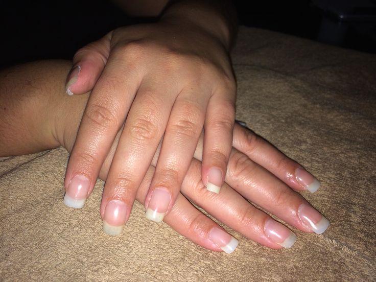 Natural silk nails overlay