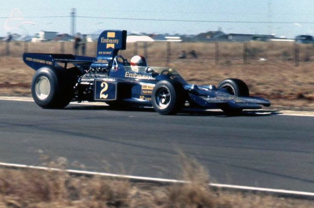 Eddie Keizan (Team Gunston)	Lotus 72 - Ford