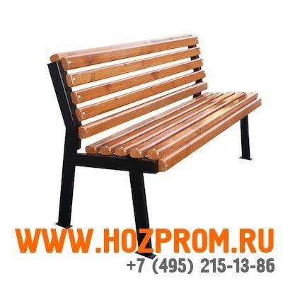 Купить недорогие уличные скамейки в Москве. Скамейки металлические для дачи. Цена на садовые скамейки для улицы и парка в интернет магазине hozprom.ru