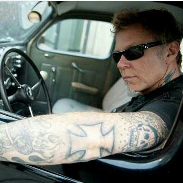 james hetfield tattoos - 800×829