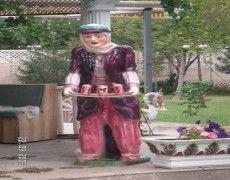 Peasant Woman Statue