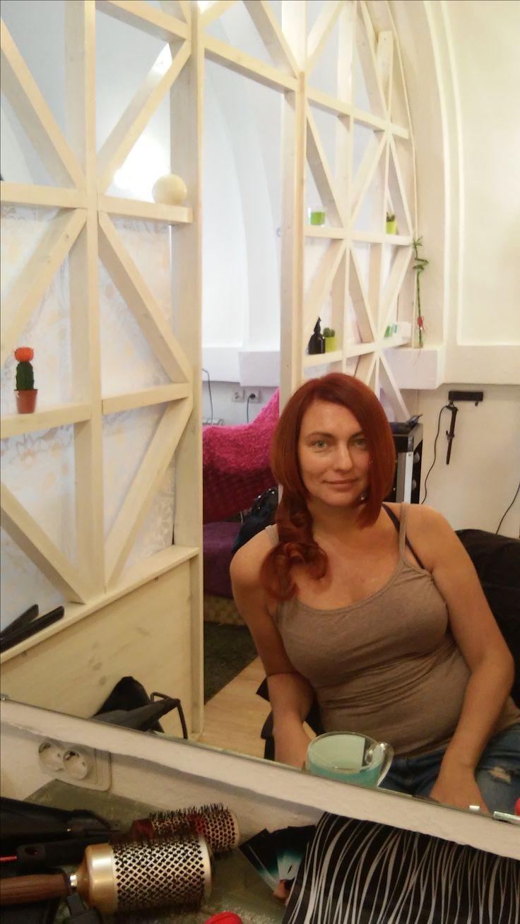 Мультитональное окрашивание волос/ Рыжие волосы/ Рыжие девушки/ Медные оттенки/Красивые волосы/Длинные волосы