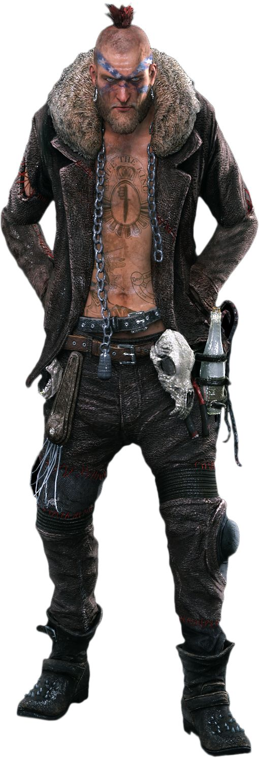 "Hunter Thibodeaux from ""Dead Rising 3"""
