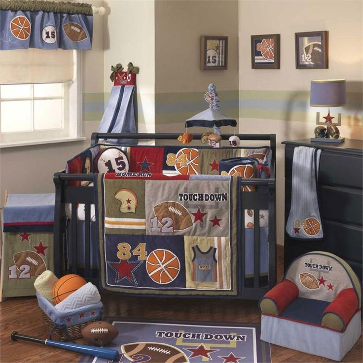 12 Unique Baby Boy Sports Crib Bedding