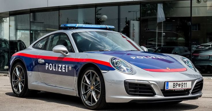 New Porsche 911 Reports For Police Duty In Austria [w/Video] #Police_Cars #Porsche