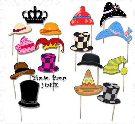 Los sombreros para fotocall son un acierto seguro. Descárgatelos gratis.