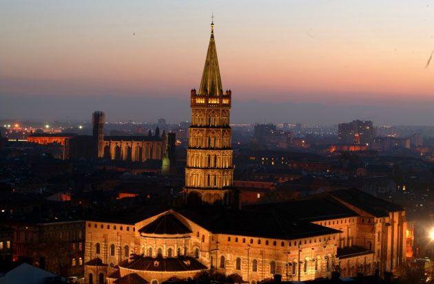 Basilique Saint-Sernin - Toulouse - à 50mn de Brin de Cocagne - chambre d'hôtes écologique de charme dans le Tarn près d'Albi - Brin de Cocagne