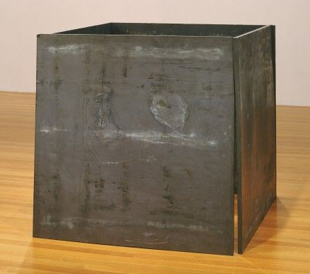 MoMA | Richard Serra. One Ton Prop (House of Cards). 1969 (refabricated 1986)