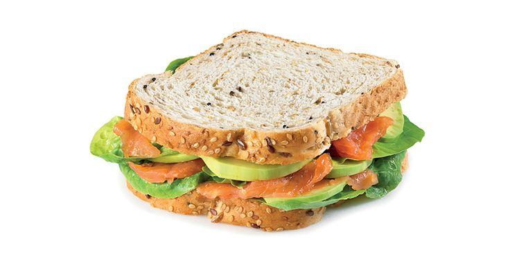 Gourmet sandwich με Ψωμί σε Φέτες «Χωριανό» ΠΑΠΑΔΟΠΟΥΛΟΥ Πολύσπορο