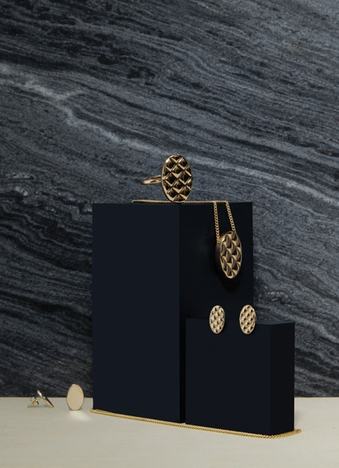 Quilt Brass Collection - photo by Lisa Klappe for byAMT Label