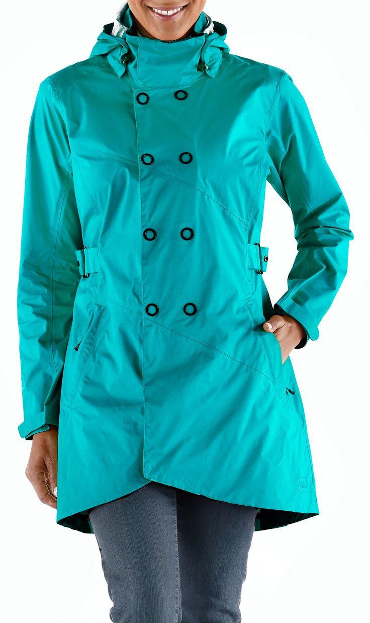 Womens Trench Rain Coat Photo Album - Reikian