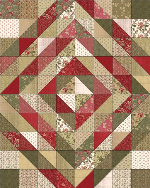 The Dark Side…or Not Layer Cake Quilt « Moda Bake Shop