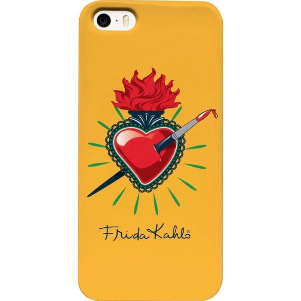 Frida Kahlo Pierced Heart Phone Case (399.615 IDR) ❤ liked on Polyvore featuring accessories and tech accessories
