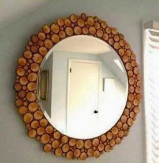 17 best images about espejos on pinterest tennis racket - Como decorar madera ...