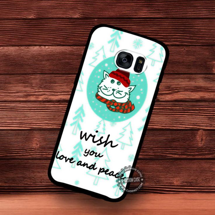 Wish You Love and Peace Hopefully Christmas - Samsung Galaxy S7 S6 S5 Note 7 Cases & Covers