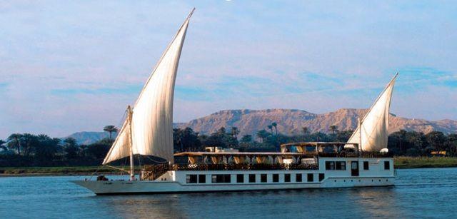 A dahabeya on the Nile