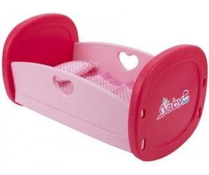 Кроватка для куклы Игруша Кроватка для куклы с аксессуарами в наборе