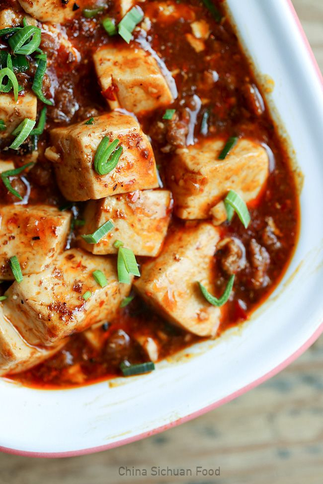 Mapo Tofu (one of my all time favourite Tofu dish)