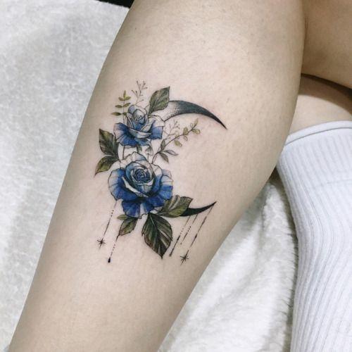 aeri_tattoo #MoonTattooIdeas