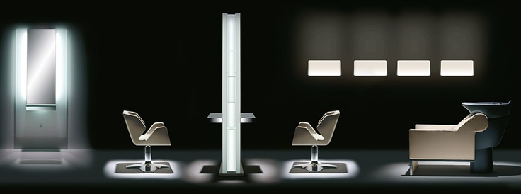 Glow series salon collection by gamma state of the art for State of the art furniture
