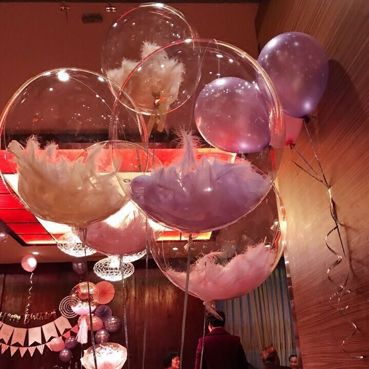 Cheap Ballons Accessories Buy Directly From China Suppliers 1pcs Clear Balloons Feather Balloons Birthday Weddin Clear Balloons Balloons Birthday Balloons