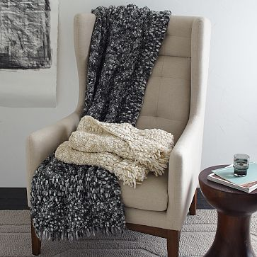 West Elm Throw Blanket Glamorous 18 Best Thaw Me Throws Images On Pinterest  Throw Blankets Animal Design Inspiration