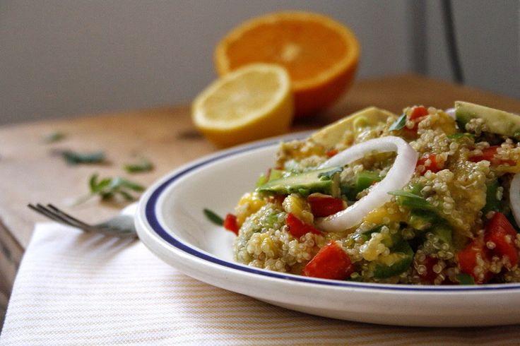 Las maría cocinillas: Ensalada de Quinoa, Mango y Aguacate