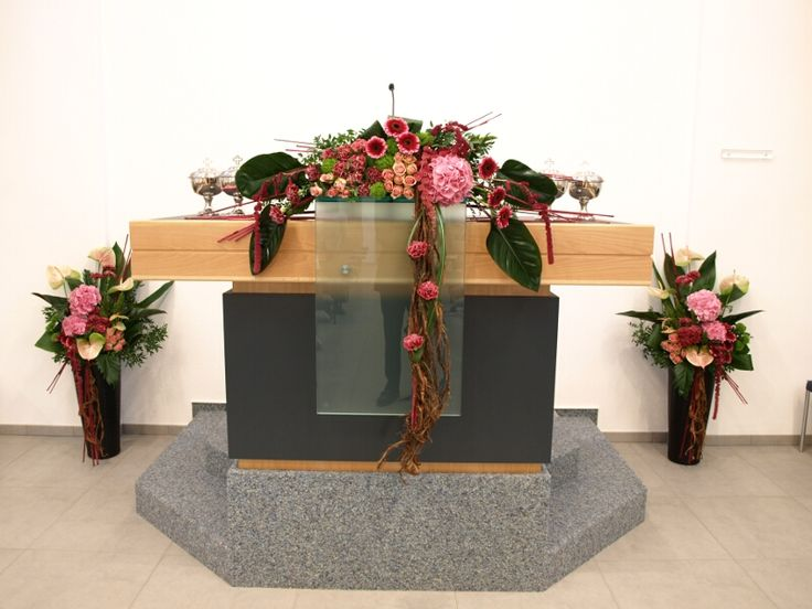 pentecost altar flowers