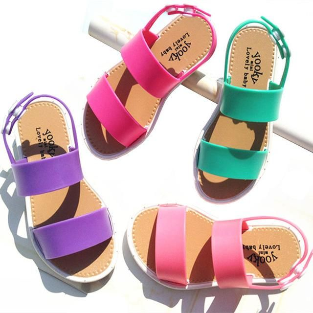 2016 New Summer Girls Shoes Fashion European Style Kids Sandals For Girls 3 7y…