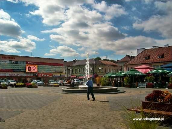 Rynek - Wieluń, zdjęcia miast, galeria zdjęć