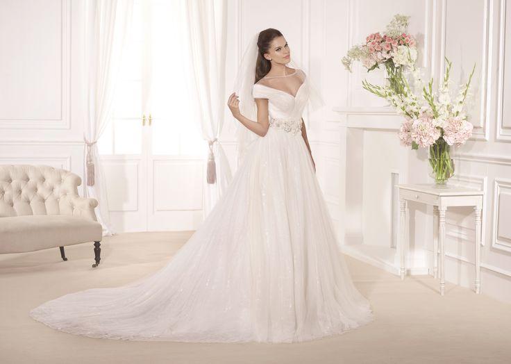 Tarik Ediz G1122, свадебное платье Tarik Ediz, wedding dress, невесты 2017, свадебное платье, bride, wedding, bridesmaid dress, prospective bride, best bride, Wedding Dress A-Line