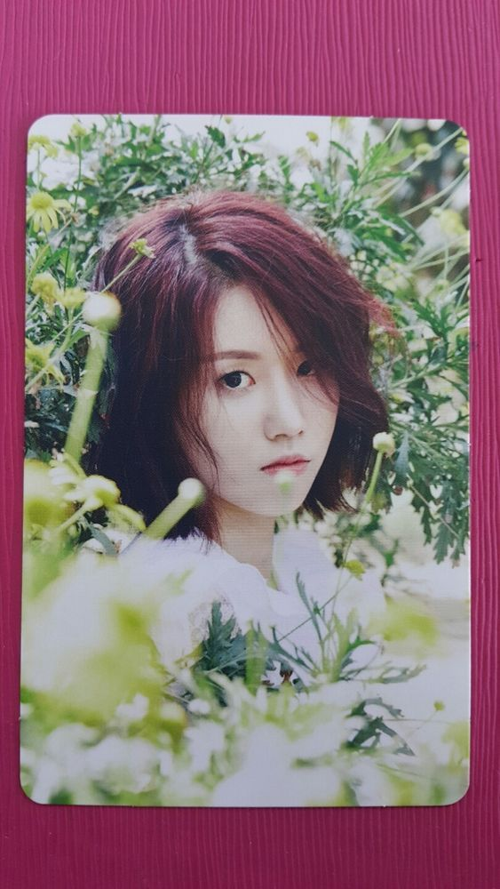 LOVELYZ JIN Official Photocard #2 A NEW TRILOGY 2nd Album GRAVITY 진