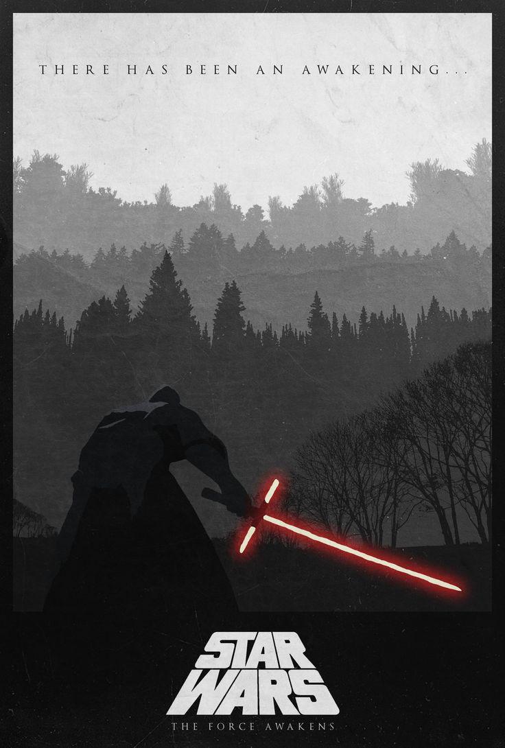 Star Wars VII: The Force Awakens Alternate Poster - Edward Julian Moran II