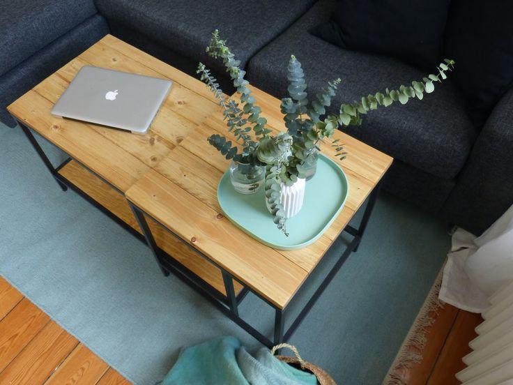 IKEA Hack - Satztische im Altholz-Look | mintundmeer