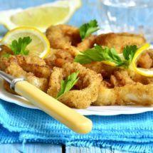Ma recette du jour : Calamars frits et aïoli citron sur Good-recettes.com