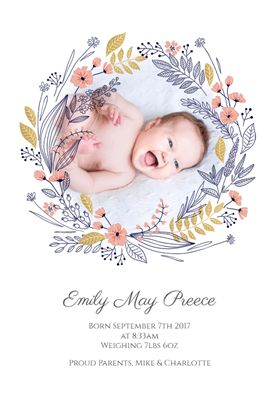 birth announcement template free online - 58 best birth announcement templates images on pinterest