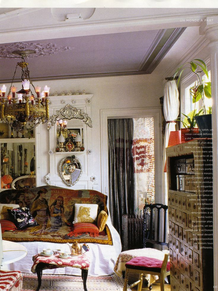 https://flic.kr/p/6zcXtC | Paris Apartment | Marie Claire Maison May/June 2008 Photographer: Adrien Dirand