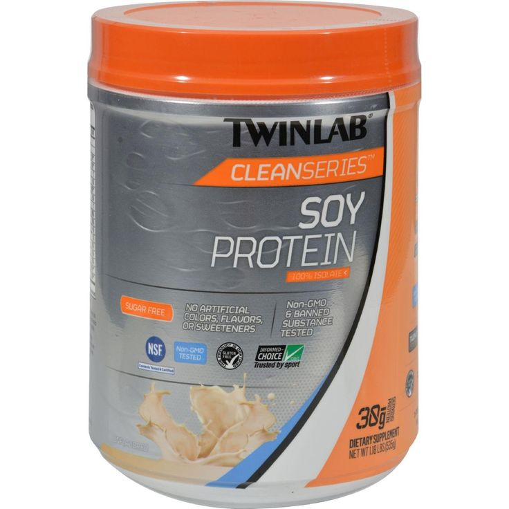 Twinlab Cleanseries Soy Protein Isolate - 535 Grm