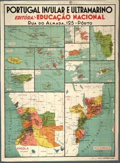 "Mapa O Portugal e outras ░ ""Portugal Overseas"""