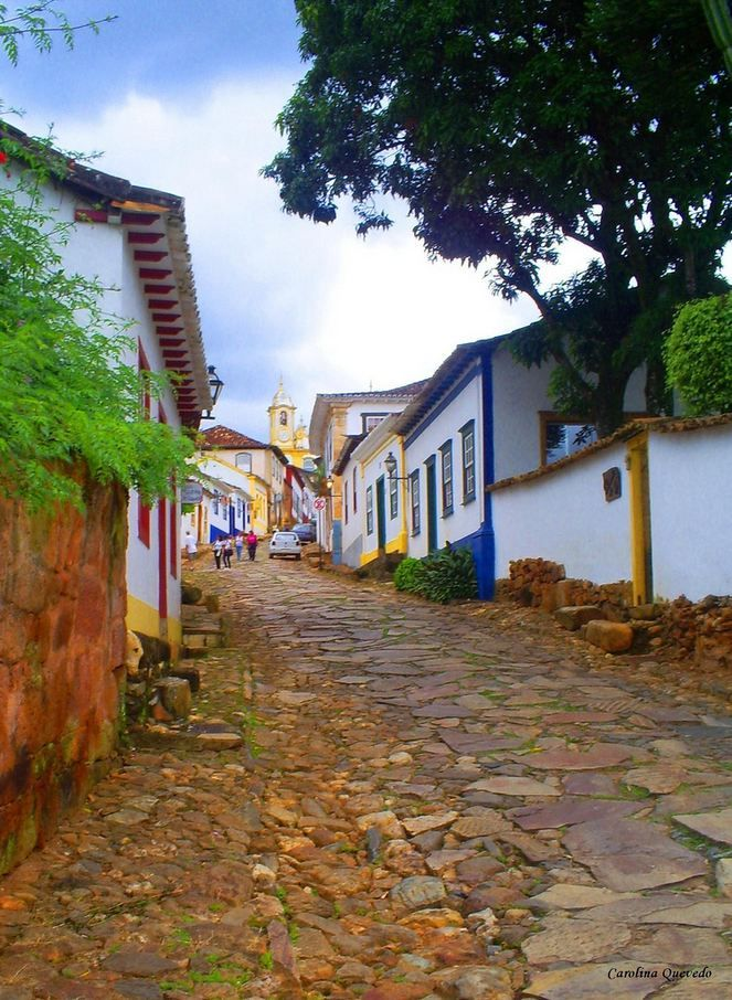 Streets of Tiradentes, Minas Gerais / Brazil (by Carolina...