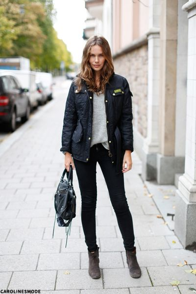 Barbour Jacket Style